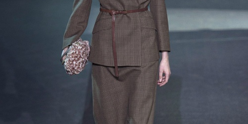 Fashion tendences/FW 2013-2014/Masculine in terms of fabrics and feminine in terms of silhouettes