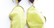 Alive Silk Drop earrings by Jewelum