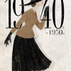 fashion through the decades (a short course of history 40s-50s)