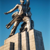 Culture: outstanding  monument of the Soviet monumental art