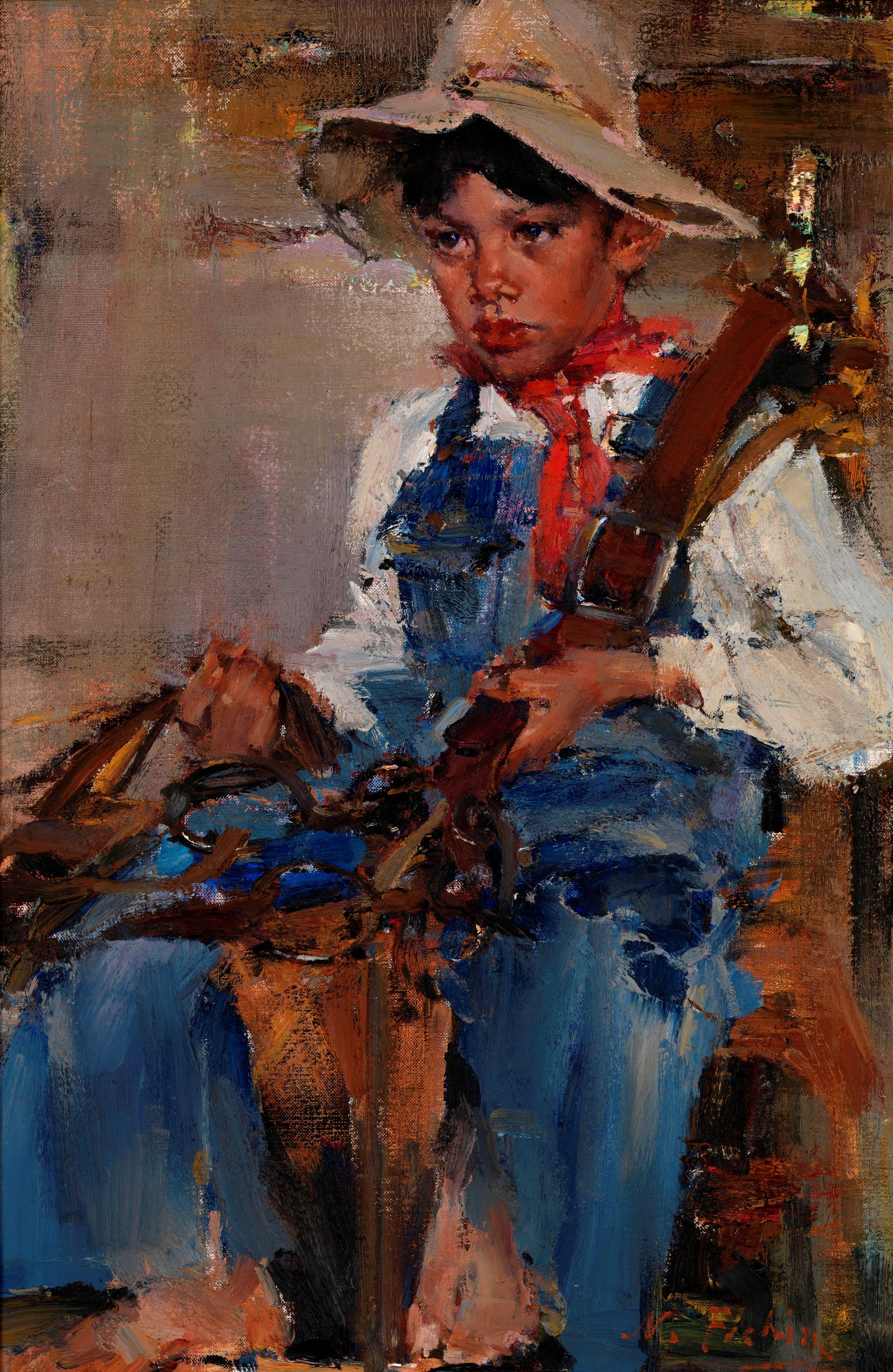 """The Little Cowboy"" – the new star of Russian auction sales"