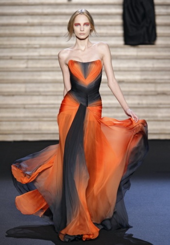 The themes of the best Russian designers' collections FW 2011/2012- Valentin Yudashkin