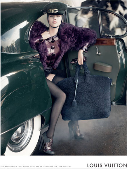 Louis Vuitton FW 2012-2013 ad campaign. The romance of travel!