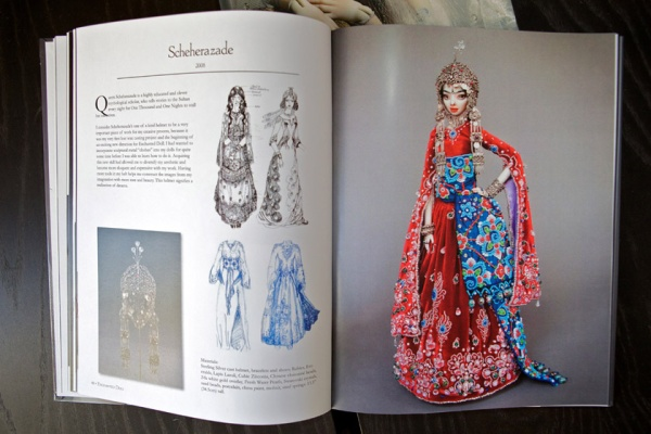 New Year's present-Enchanted Doll book