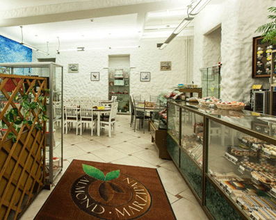 The exposition of marzipan works in Tallinn