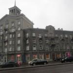 Soviet chic in Tallinn/Tartu mnt Stalin era building