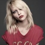 Russian models/Painter Sasha Pivovarova