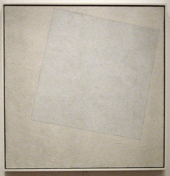 Suprematist Composition: White On White, 1918, The Museum of Modern Art