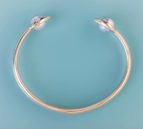 Cocochnik pearl bangle by Monquer