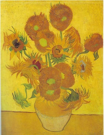 Sunflowers (1888) by Vincent van Gogh