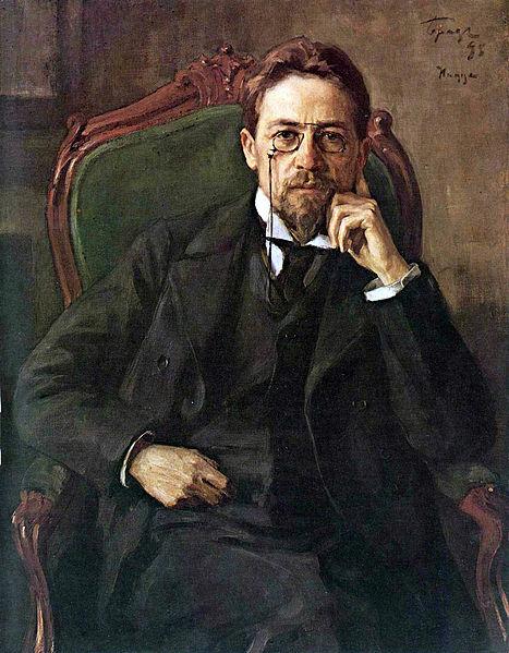 Portrait of Anton Pavlovich Chekhov, 1898, www.tretyakovgallery.ru
