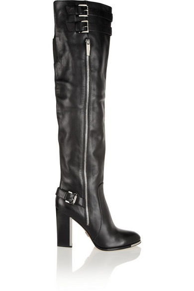 Michael Kors' leather over-the-knee boots, net-a-porter.com