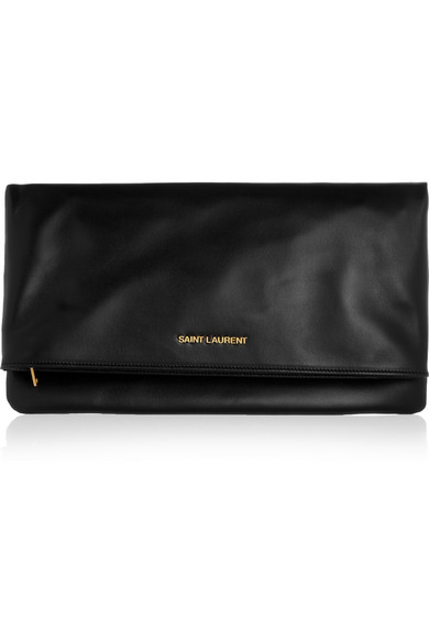 Saint Laurent's  'Letters' clutch, net-a-porter.com