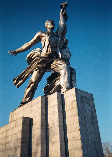 Worker and Kolkhoz Woman